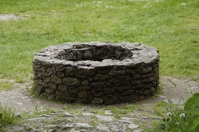 Fountain Old Stone Wall - Free photo on Pixabay (750347)