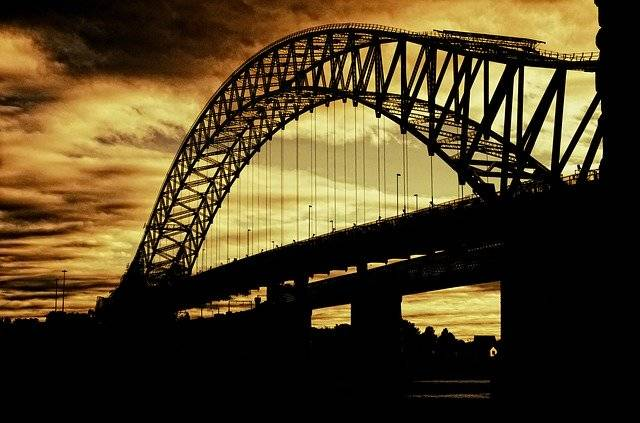 Silver Jubilee Bridge Suspension - Free photo on Pixabay (750358)