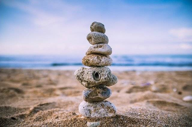 Beach Balance Wallpaper - Free photo on Pixabay (750549)