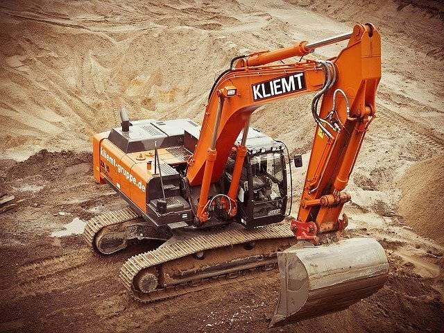 Excavators Construction Site - Free photo on Pixabay (750552)