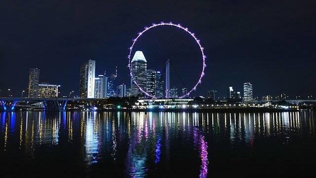 Singapore Ferris Wheel Big - Free photo on Pixabay (750660)