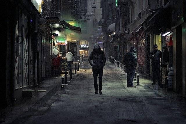 Alone Walking Night - Free photo on Pixabay (750673)