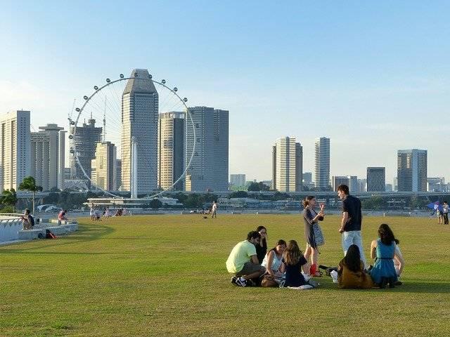 Singapore Marina Barrage - Free photo on Pixabay (750676)