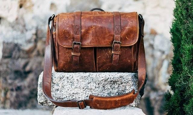 Bag Classic Leather Messenger - Free photo on Pixabay (750691)