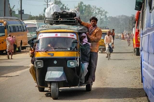 Rickshaw Travel Taxi - Free photo on Pixabay (750745)