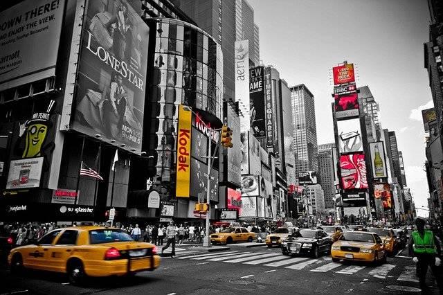 New York Red Yellow - Free photo on Pixabay (750759)