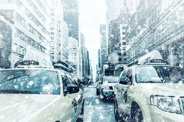 New York Taxi Road Yellow - Free photo on Pixabay (750763)