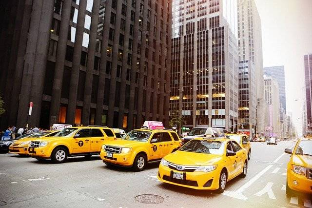 Taxicabs New York Taxis - Free photo on Pixabay (750766)