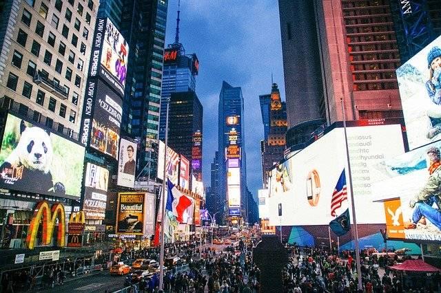 City Time Square Nyc - Free photo on Pixabay (750822)