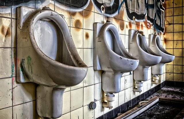 Toilet Urinal Lost Places - Free photo on Pixabay (750889)