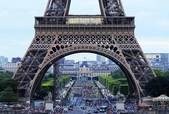 Eiffel Tower Arch Tourism - Free photo on Pixabay (750930)