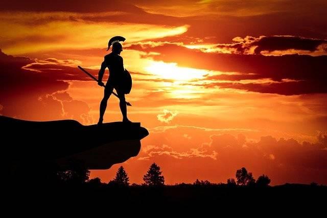Spartan Army Sun - Free photo on Pixabay (750936)