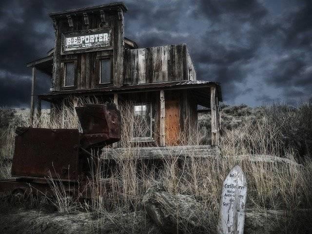Ghost Town Wild West Village - Free photo on Pixabay (751113)