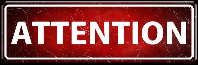 Banner Header Attention - Free image on Pixabay (751137)