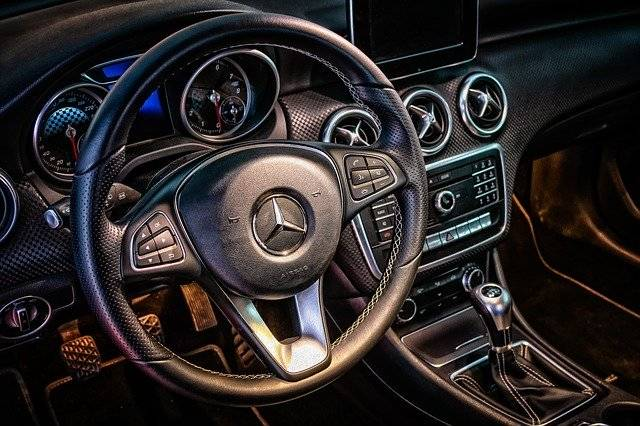 Mercedes Cockpit Interior - Free photo on Pixabay (751310)
