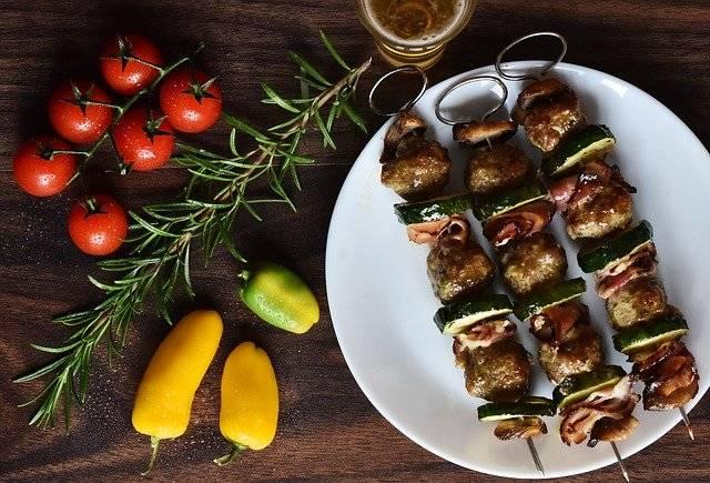 Chicken Meat Skewer - Free photo on Pixabay (751348)