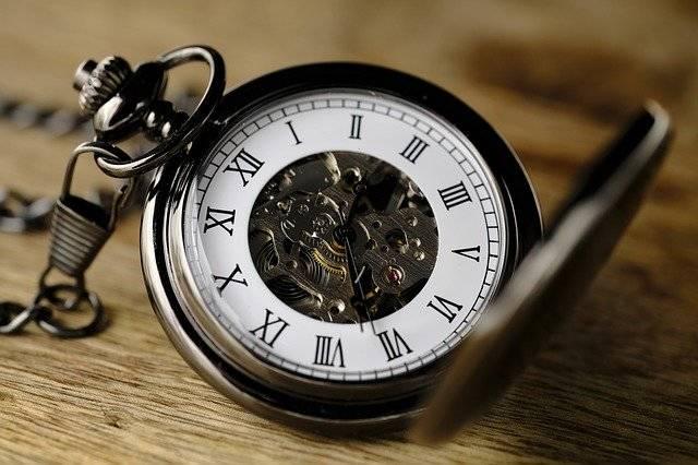 Clock Pocket Watch Movement - Free photo on Pixabay (751388)