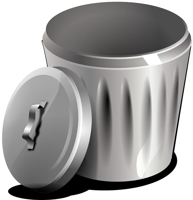 Garbage Basket Bin - Free vector graphic on Pixabay (751498)