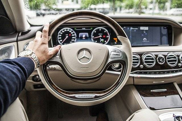 Steering Wheel Car Drive - Free photo on Pixabay (751589)