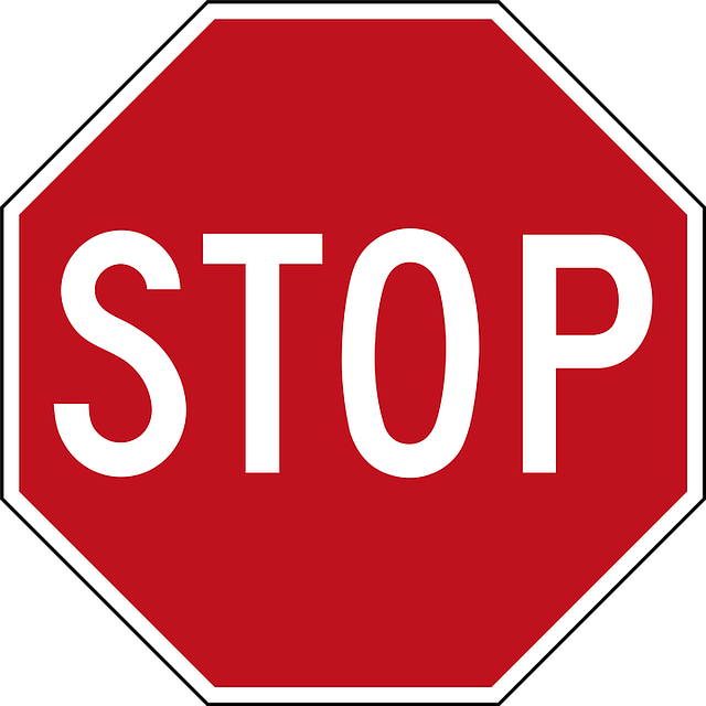 Stop Road Panel - Free image on Pixabay (751595)