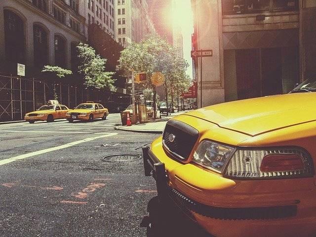 Taxi Cab Taxicab - Free photo on Pixabay (751661)