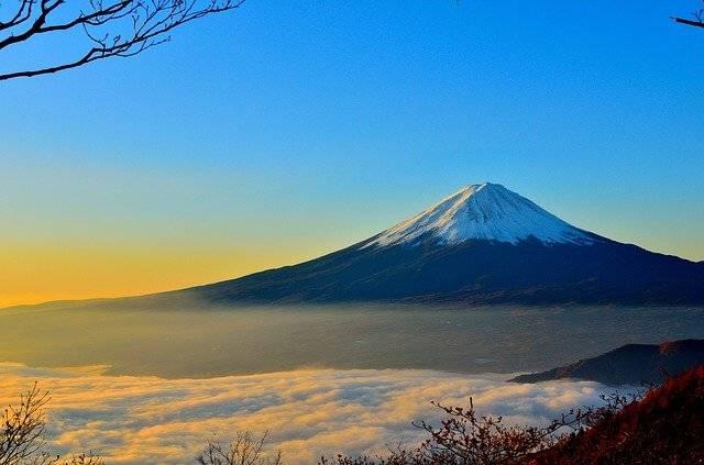 Mt Fuji Volcano Foggy - Free photo on Pixabay (751697)