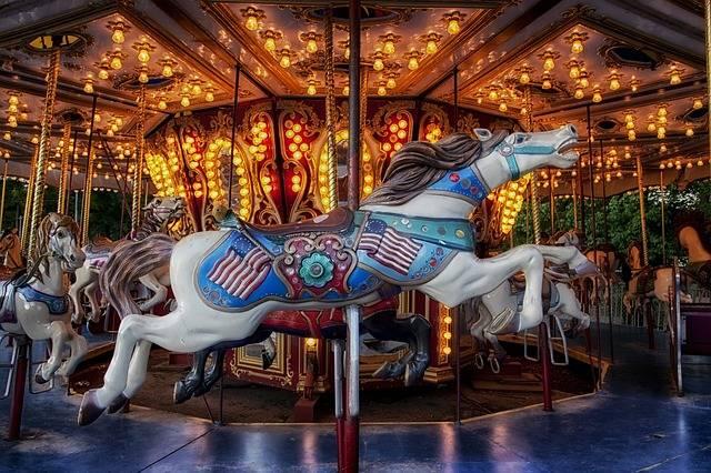 Carousel Carnival Amusement Park - Free photo on Pixabay (751698)