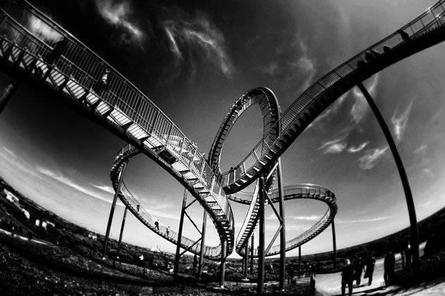 Rollercoaster Looping Amusement - Free photo on Pixabay (751699)