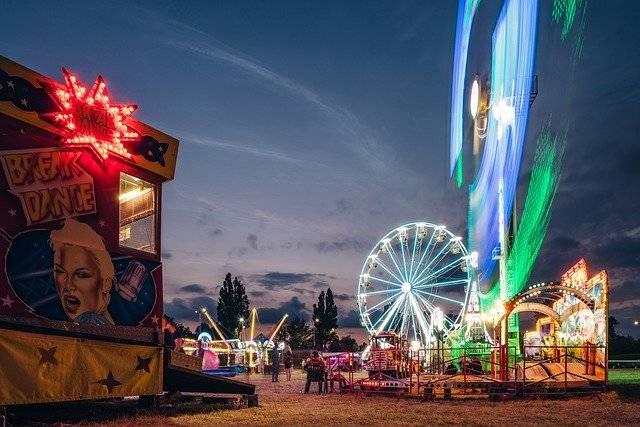 Amusement Park Ferris Wheel - Free photo on Pixabay (752039)
