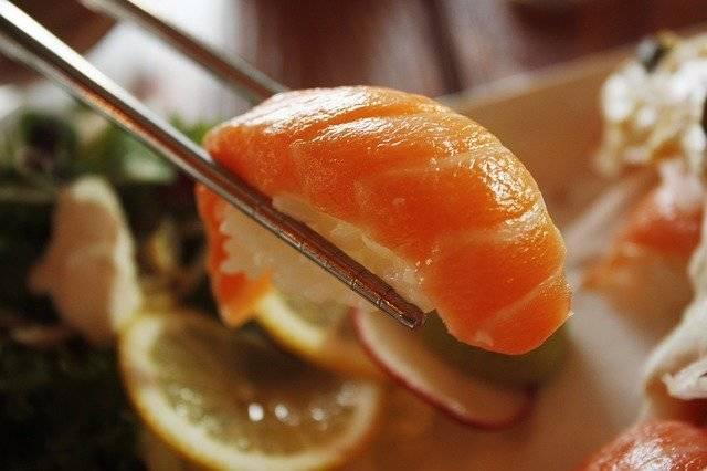 Salmon Sushi Dining Room - Free photo on Pixabay (752067)
