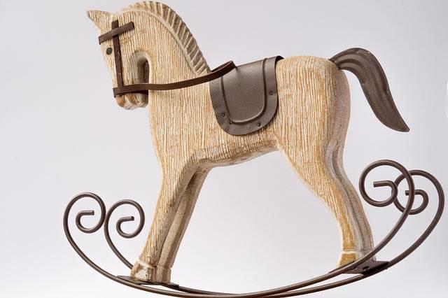 Horse Rocking Decorative - Free photo on Pixabay (752075)