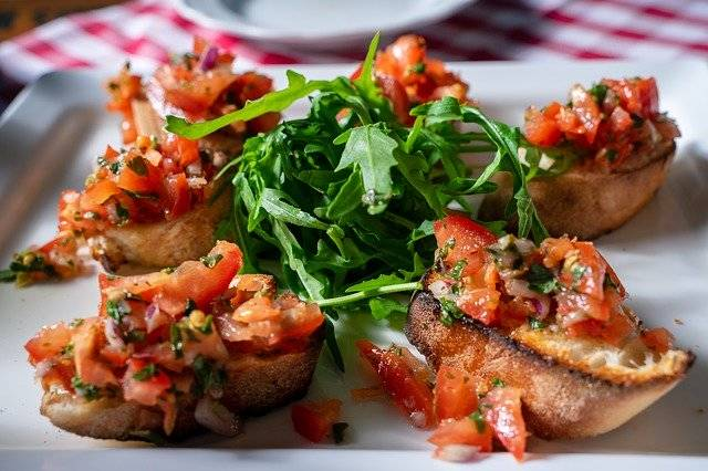 Bruschetta Tomatoes Food - Free photo on Pixabay (752149)