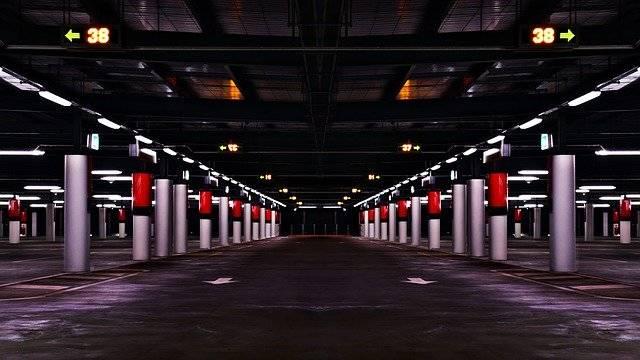 Parking Garage Lot Empty - Free photo on Pixabay (752357)