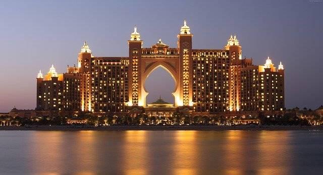 The Palm Atlantis Dubai - Free photo on Pixabay (752364)