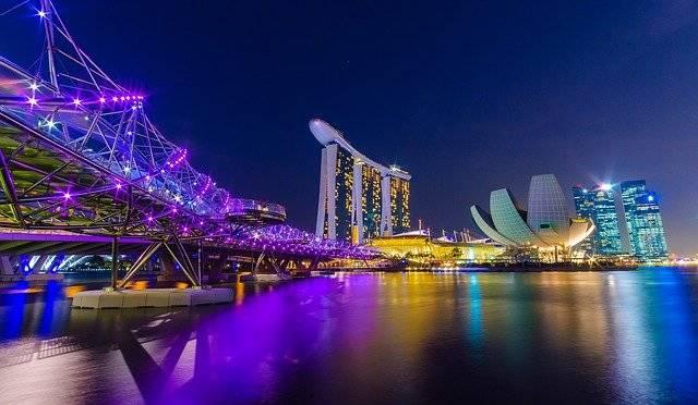 Singapore Marina Bay Helix City - Free photo on Pixabay (752592)