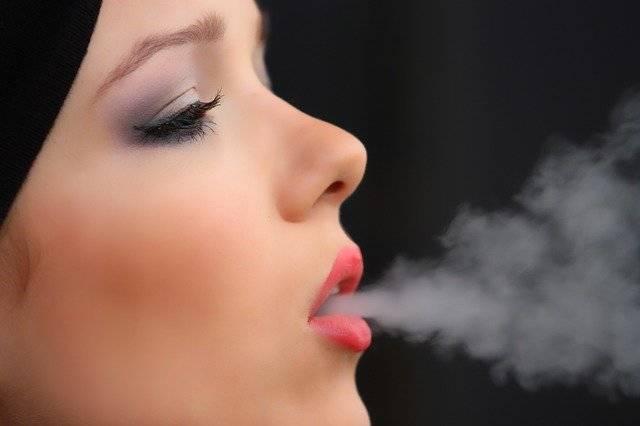 Girl Smoke Cigarette Nicotine - Free photo on Pixabay (752618)