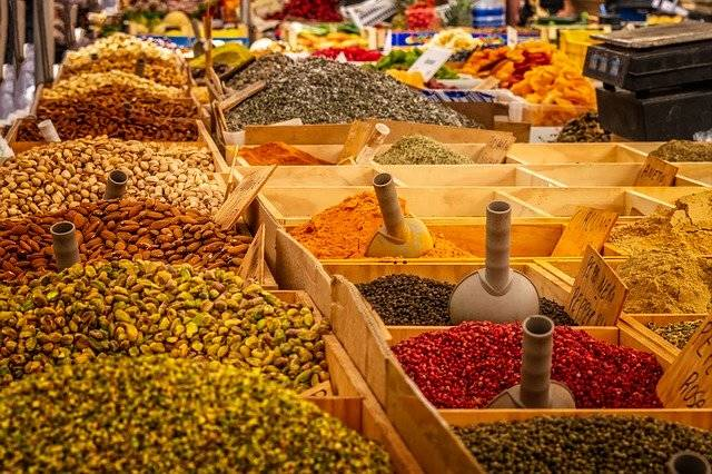 Market Stand Spices - Free photo on Pixabay (752642)