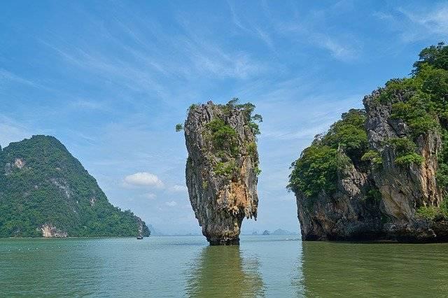 Phang Nga Bay Phuket Province - Free photo on Pixabay (753180)