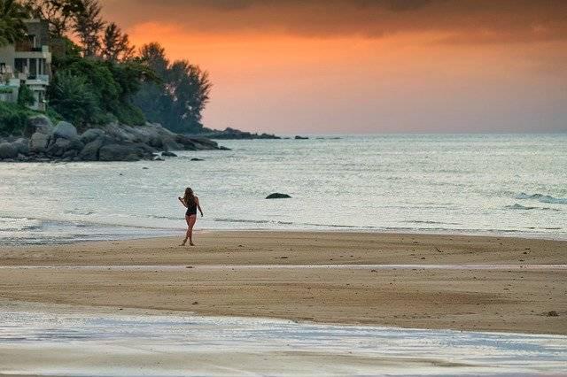 Sunset Woman Girl - Free photo on Pixabay (753276)
