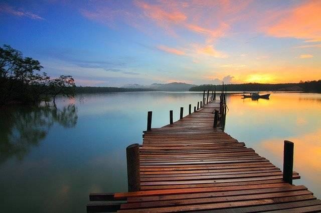 Sunrise Jetty Pier - Free photo on Pixabay (753754)