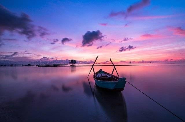 Sunrise Boat Rowing - Free photo on Pixabay (753755)