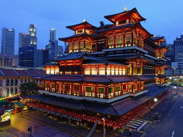 Buddha Tooth Relic Temple - Free photo on Pixabay (753839)