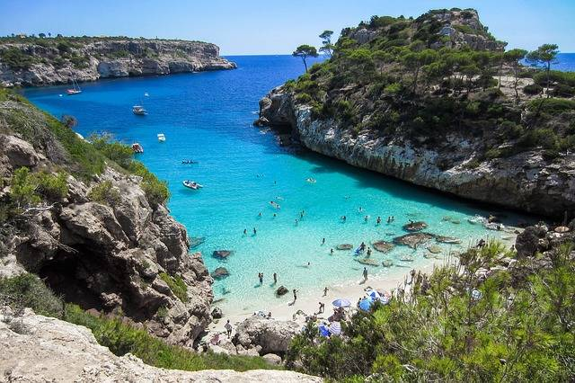 Beach Mallorca Bay - Free photo on Pixabay (753872)