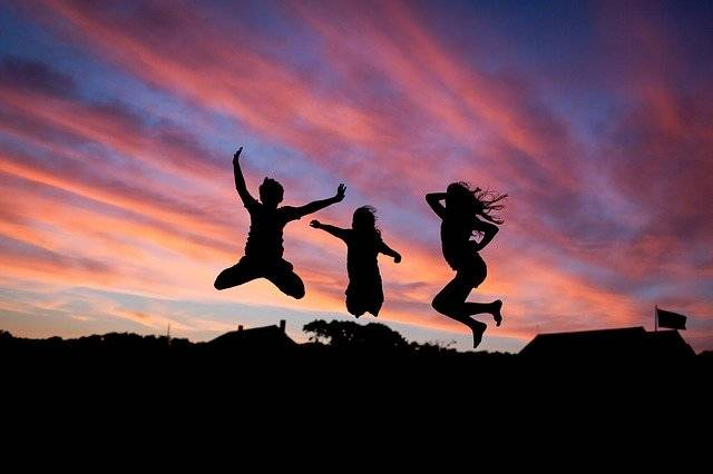 People Jumping Happiness - Free photo on Pixabay (753900)