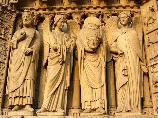 Notre Dame Paris Facade - Free photo on Pixabay (754162)