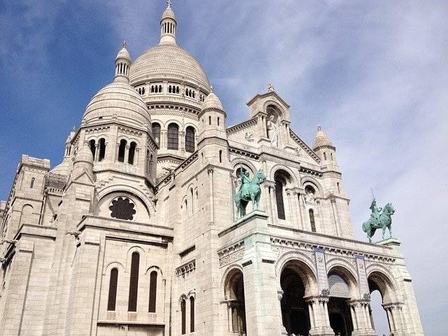 Sacré-Cœur Basilica - Free photo on Pixabay (754163)