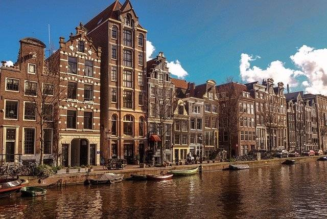 Amsterdam Canal Old Town - Free photo on Pixabay (754444)