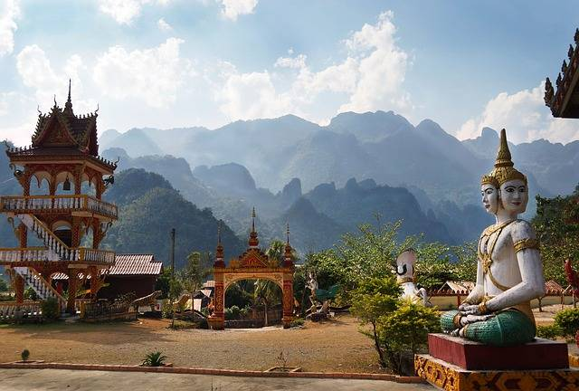 Laos Temple Mountains - Free photo on Pixabay (754446)