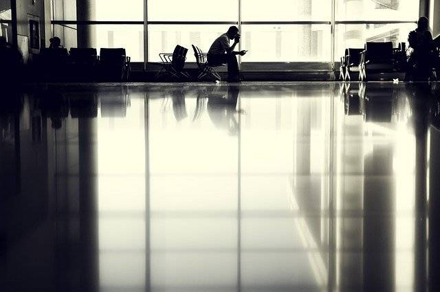 Airport Person Waiting - Free photo on Pixabay (754594)