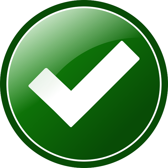 Approved Button Check - Free vector graphic on Pixabay (754630)